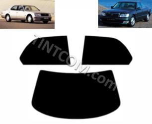 Тонировка - Lexus LS (4 двери, Седан, 1995 - 2000) Johnson Window Films - серия Ray Guard
